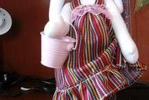 Mis muñecas de tela y porcelana / Muñecas de tela
