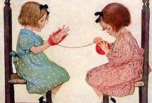 Láminas infantiles, ilustraciones, papeles / by matilde martinez