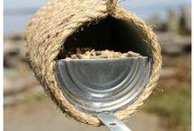 """Afval DIY´s met Sien en Co ❣ / De leukste Pinterest knutselideeën met """"afval"""" verzamel ik hier voor je. Meer Knutselideeën? Volg mijn blog: http://www.knutselenmetsienenco.nl."""