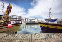 Port-Joinville / Photos de Port-Joinville, port de pêche et village principal de L'île d'Yeu, en Vendée.