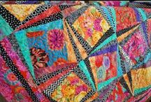 Kaffe Fasset Quilts / Quilts made from fabrics Kaffe Fasset designet to Westminster Fibers. Part of quilts are also designed By Kaffe Fasset.