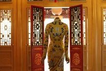 China: Through the Looking Glass / This exhibition explores the impact of Chinese aesthetics on Western fashion and how China has fueled the fashionable imagination for centuries.  The Costume Institute's spring 2015 exhibition is on view at The Metropolitan Museum of Art (May 7 - August 16).