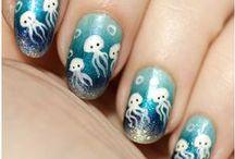 Nails / Nail polish ideas, tutorials, accessory etc