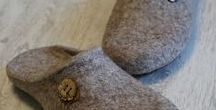 Felting - Slippers and Shoes