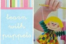 puppets / all about puppets and finger puppets. Preschool