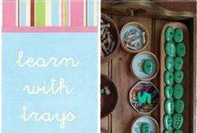 tray activities for preschool