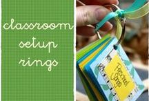 organizing activities with rings at preschool and kindergarden