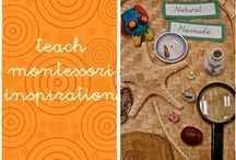 teach - montessori inspiration / activities from montessori.  It is my inspiration classroom from http://tothelesson.blogspot.com.es