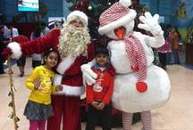 Celebrate Christmas at Dubai Dolphinarium! / As the world celebrate Christmas, Dubai Dolphinarium, one of the best Dolphin Shows in Dubai presents different events and activities that are perfect for the Kids!