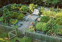Maalaisunelmaa / Maalaismaisemaa, pihaa ja puutarhaa