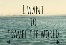 let's go somewhere / I deeply desire to travel