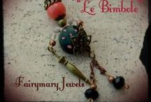 "ஐ๑""Le Bimbole""ஐ๑ / Dolline chic in pietra dura,filigrana e cristalli"