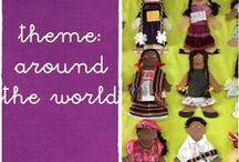 Around the world theme