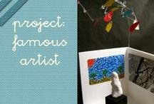 famous artists project