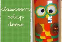 classroom setup - doors