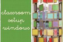 classroom setup - window