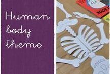 human body theme