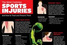 Sports Injuries / Tips for preventing sports related injuries .