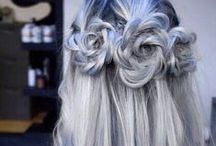 H a i r / Hair colours and styles.