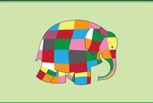 Book: Elmer the Elephant / Fun and inspirational ideas to use with Elmer the elephant that teach colour and that being yourself is just right! / by Keryn Johnson - Just Teach