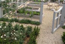 Potager / Beautiful and practical kitchen gardens