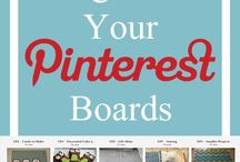 Pinterest Stuff / Ideas to make the most of your Pinterest Boards. / by Keryn johnson