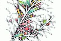 """Tangles and Doodles / Awesome, inspiring, and """"wish I did that"""" doodles."""