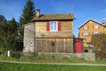 Häuschen Töberstrasse 23a, Thal SG, Switzerland / My cottage
