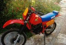 Honda XR350 restoration - Sotiris Zagouras / XR 350 restoration by Sotiris Zagouras