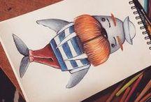 illustration / Handmade illustration
