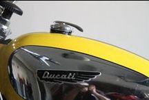 Ducati Scrambler restoration / A restoration of a classic Ducati Scrambler by Takis Gonis. Amazing work.