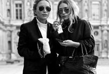 Mary-Kate & Ashley Olsen / The hottest looks worn by Mary-Kate & Ashley Olsen