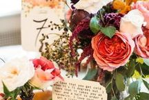 Setting the Table / Wedding Table Decor