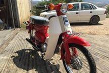 "Lefteris Plastaras Honda C50 / ""Honda C50""  #Honda #C50 #Supercub #Motorcycles #Restoring"