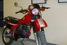"Panos Skouteris / ""Honda XLR 250"" #Honda #XLR #Motorcycles #Restororing"
