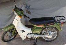 "Kostas Nikolopoulos / ""Yamaha T50"" #Yamaha #Townmate #Motorcycles #Restoring"