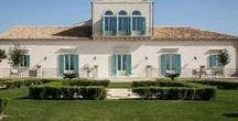 Villa Hyblea, Aristocratic masseria in Sicily / Aristocratic masseria in Sicily on an country estate with ancient olive groves and a 24 metre pool.