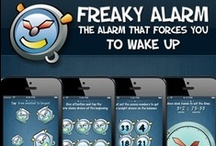 FreakyAlarm / The most effective alarm clock ever. FreakyAlarm is the iPhone alarm clock that wakes your brain and forces you to get out of bed  https://itunes.apple.com/app/freakyalarm/id383313224?mt=8