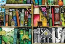 Books, Shelves, Libraries