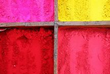 Color Inspiration / Color combinations for art and living.