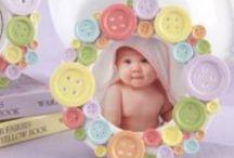Recuerdos - Portaretratos para Baby Shower / Tiernos portaretratos geniales para dar de recuerdos o premios a los invitados al Baby Shower. Disponible en www.pkts-babyshower.com