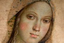 """Pinturicchio / Bernardino di Betto, called Pintoricchio or Pinturicchio  (1454–1513) was an Italian painter of the Renaissance. He acquired his nickname, Pintoricchio (""""little painter""""), because of his small stature, and he used it to sign some of his works."""