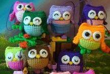 uilen / owls crochet or knit 1