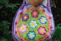 tassen/bags ( crochet )