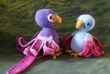 gehaakte vogels/crochet birds