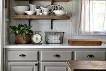 Kitchen country style / Einrichtungsideen für die Küche