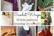 multiple patterns crochet clothes