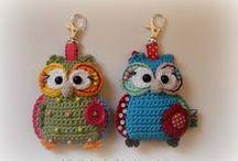 uilen/owls crochet or knit 2