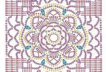 crochet squares (diagrams)