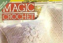 crochet magazine,s